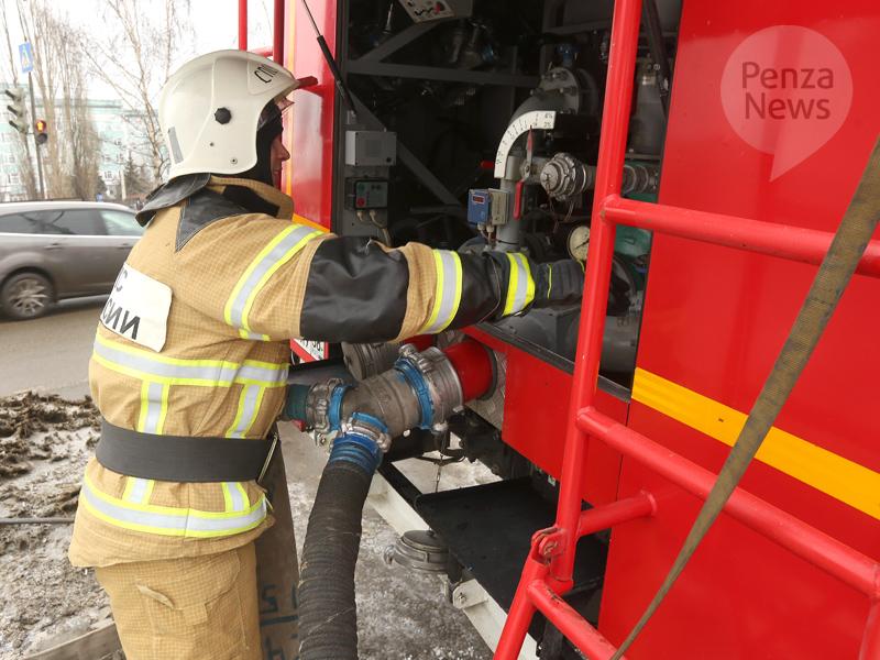 ВБашмаковском районе в итоге пожара умер мужчина