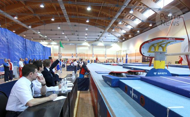 Пензенские гимнасты победили на первенстве России