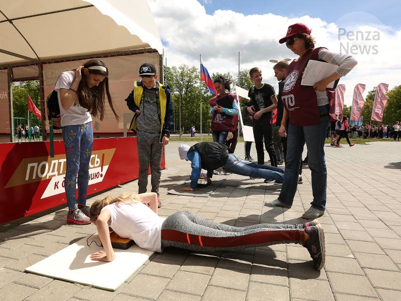 На Юбилейной площади в Пензе 10 августа отметят День физкультурника
